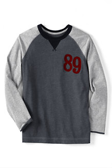 Boys' Colourblock Raglan Top