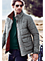 Men's Regular Herringbone Twill Insulated Jacket