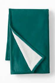 Sherpa Fleece Throw Blanket