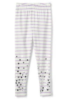 Girls' Shimmer Ankle length leggings