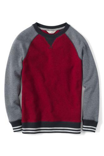 Colorblock-Sweatshirt für kleine Jungen