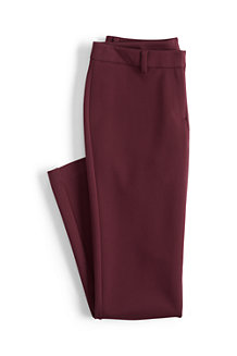 Women's Ponte Jersey Ankle Trousers