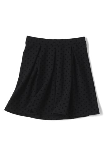 Little Girls' Flock Dot Party Skirt