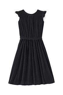 Girls' Velveteen Twirl Dress