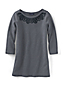 Women's Regular Starfish Soutache 3-Quarter Sleeve Boatneck Tunic