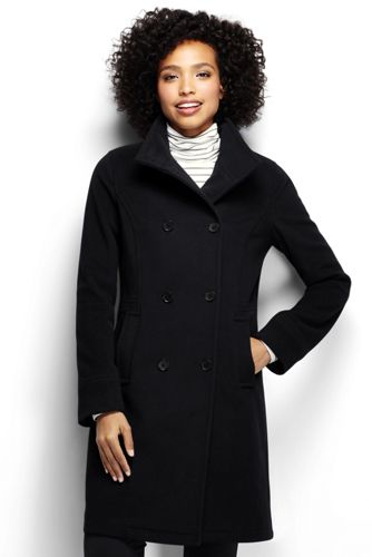 Women's Regular Luxe Wool/Cashmere Blend Double Breasted Coat