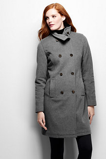 Women's Luxe Wool/Cashmere Blend Double Breasted Coat