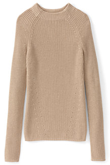 Le Pull Fine Maille Col Montant Femme