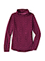 Women's Regular ThermaCheck 100 Print Fleece Roll Neck