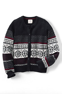 Girls' Fair Isle Sophie Cardigan