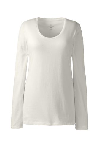 Women's Regular Cotton/Modal Jersey Sleep Top