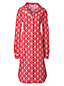 Women's Regular Flannel Patterned Nightdress