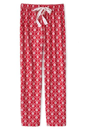 Women's Regular Flannel Patterned Pyjama Bottoms