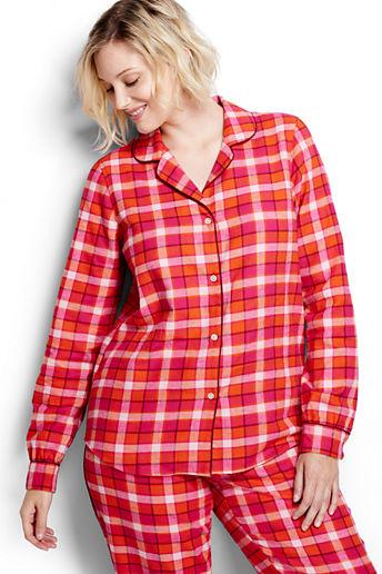 21e0c2d06f ... Women s Plus Size Flannel Sleep Shirt - Fuchsia Plaid