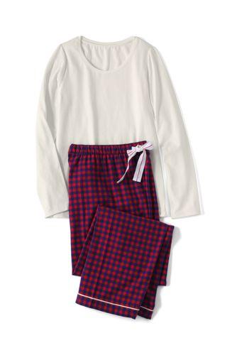 Jersey/Flanell-Pyjama-Geschenkset