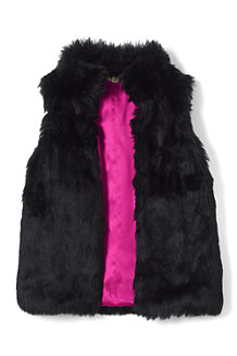 Girls' Fur Gilet
