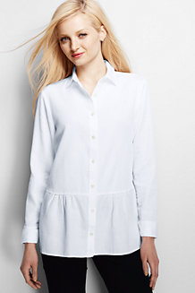 Women's Drop Waist Cotton Tunic