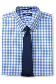 Mens No Iron Pattern Buttondown Dress Shirt