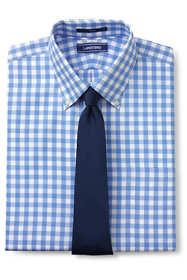 Men's Traditional Fit Pattern No Iron Royal Texture Dress Shirt