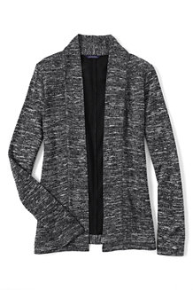 Women's Long Marled Cardigan