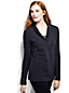 Women's Regular Terry Shawl Collar Jumper
