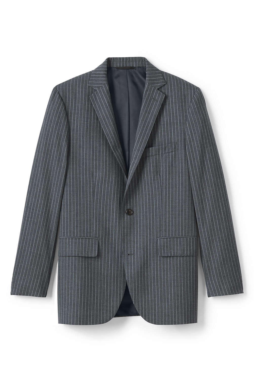 24a0a639ea32 Men s Traditional Fit Wool Year rounder Suit Jacket from Lands  End