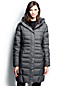 Women's Regular Heathered Fleece-lined Down Coat