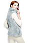 Le Gilet Sans Manches Fausse Fourrure, Femme Taille Standard