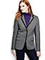 Le Blazer en Jersey Twill Femme, Taille Standard