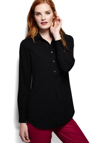 Women's Regular Dressy Patterned Tunic