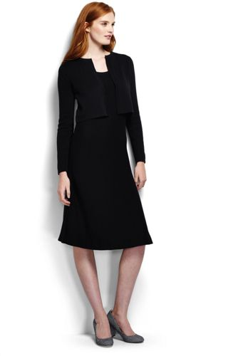 Women's Regular Supima 2-piece Dress and Cardigan