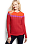 Women's Petite Drifter™ Cable Colourblock Crew Neck