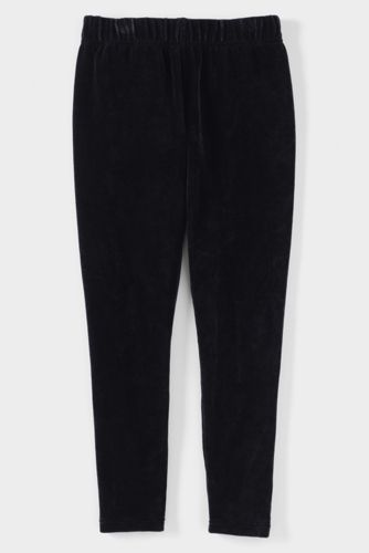 Little Girls' Velveteen Leggings