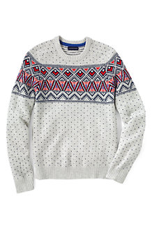 Men's Fair Isle Lambswool Sweater
