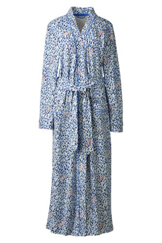 Women's Regular Cotton Sleep-T™ Patterned Dressing Gown
