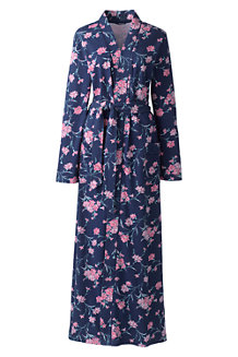 Women's Cotton Sleep-T™ Patterned Dressing Gown