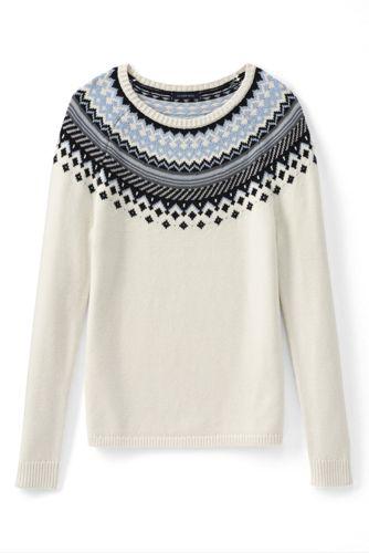 Leichter Fairisle-Pullover