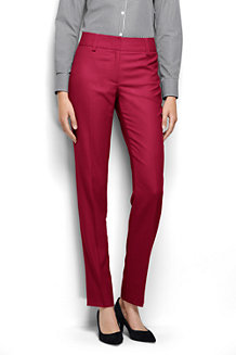 Women's Slim Leg Twill Trousers