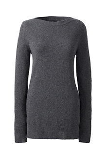 Women's Boatneck Cashmere Tunic