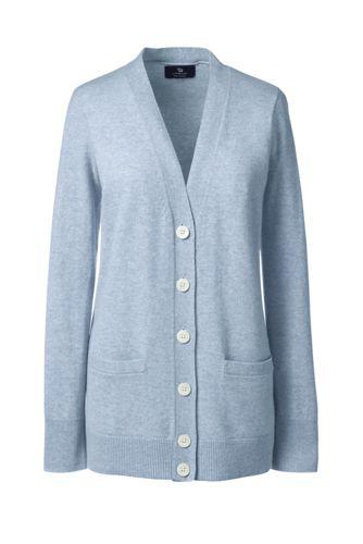 Women's Regular Classic Cashmere V-neck Cardigan