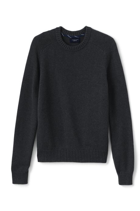 Men's Tall Drifter Cotton Crewneck Sweater
