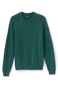 Men's Tall Drifter Cotton Crewneck Sweater