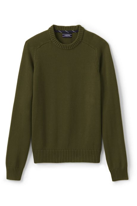 Men's Big & Tall Drifter Cotton Crewneck Sweater