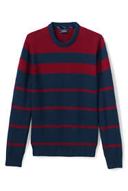 Men's Drifter Cotton Stripe Crew Sweater