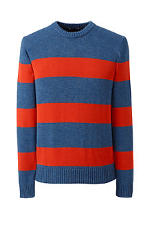 Men's Striped Drifter Cotton Jumper