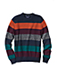 Men's Regular Striped Drifter Cotton Sweater