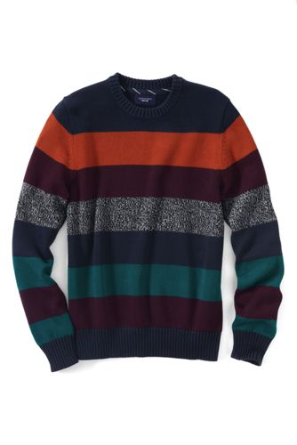 Men's Regular Striped Drifter™ Cotton Sweater