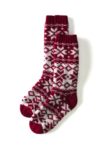 Fair Isle Stoppersocken für Kinder