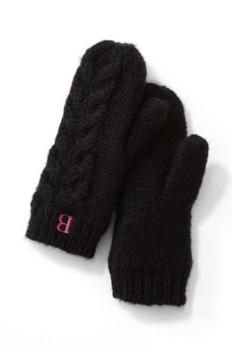 Women's Chunky Cable Mittens