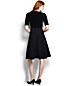 Women's Regular Velour Bodice Dress